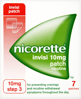 Nicorette Step 3 Invisi Nicotine Patches - 7ct