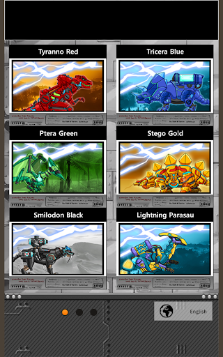 Transform Dino Robot - General Mobilization  screenshots 8