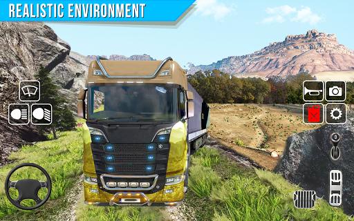 Offroad truck driver 4X4 cargo truck Drive 3D apkmr screenshots 14