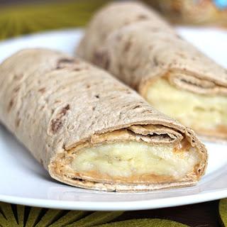 Skinny PB Banana Wrap