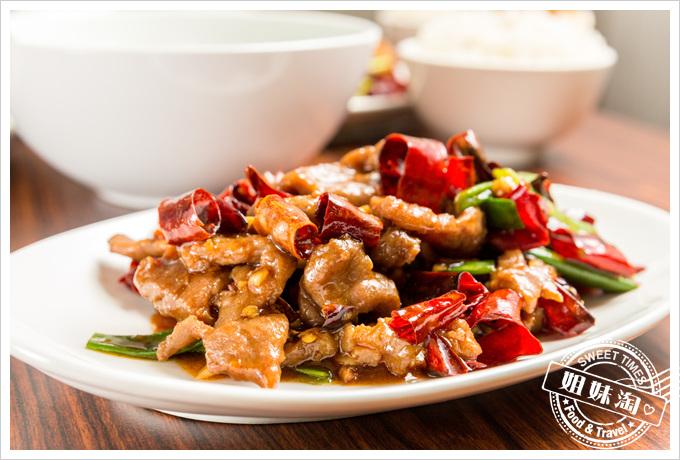 饕客食堂椒香牛肉