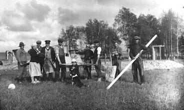 Photo: Statoma Stropų sodyba ~1920 m. Nuotrauka iš Stanislavos Šimkienės asmeninio archyvo