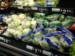 Photo: I couldn't forget that I needed to buy lettuce to add on to my Salad Additions! I wanted several different types, but....