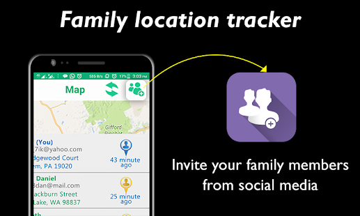 Family Location GPS Tracker - náhled