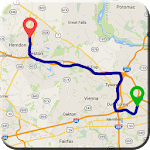Gps Route Finder & Road Search