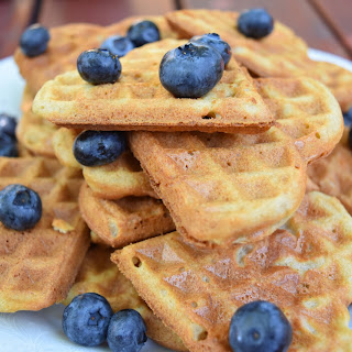 Crispy And Soft, Gluten-free And Vegan Waffle