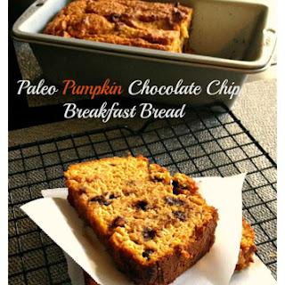 Paleo Pumpkin Chocolate Chip Breakfast Bread