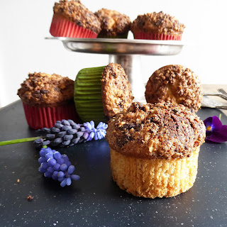 Chocolate Topping Muffins Recipes.