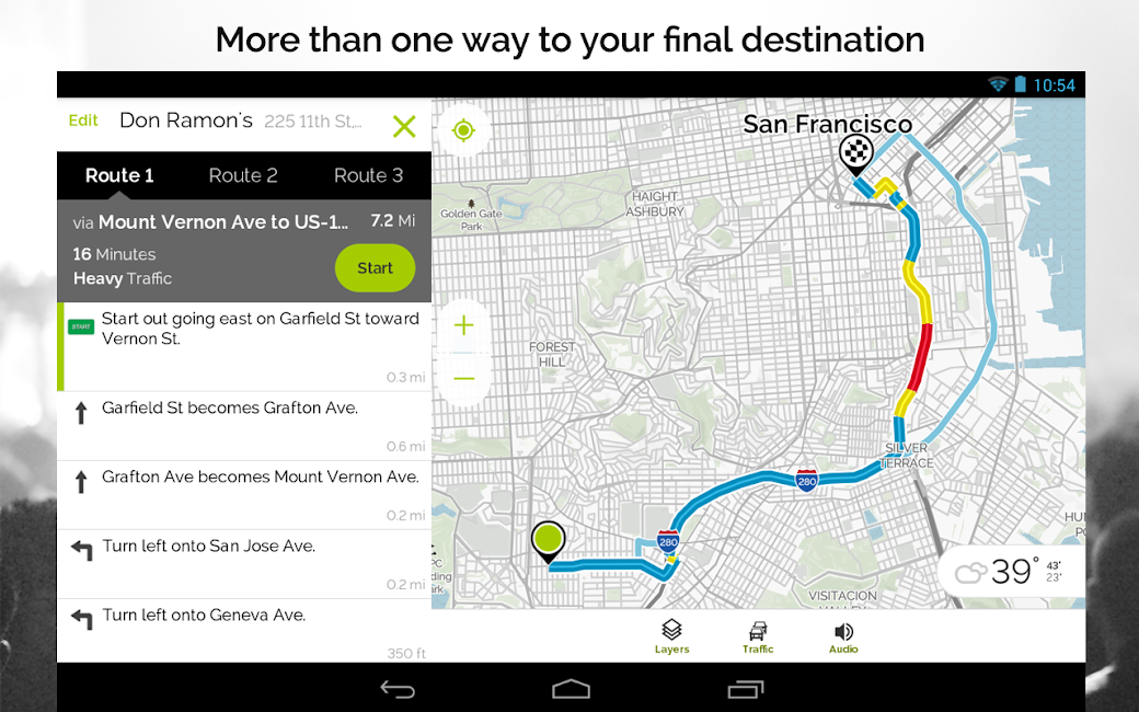 #17. MapQuest GPS Navigation & Maps (Android)