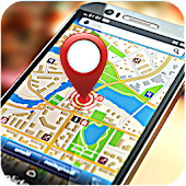 Direction GPS Tracker et carte