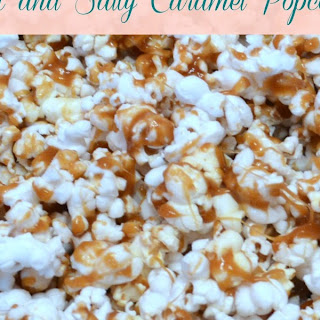 Sweet and Salty Caramel Popcorn