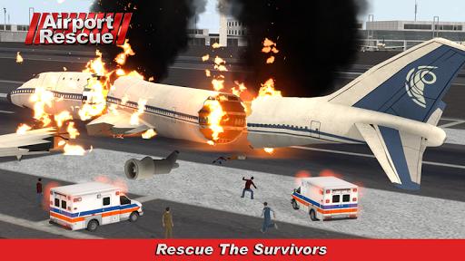 Airport Crash Rescue Sim 3D