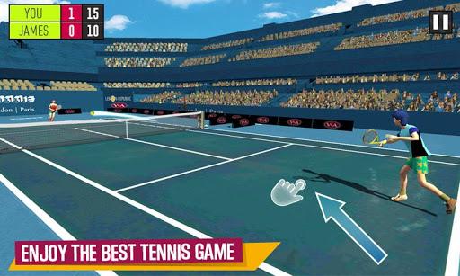 Virtual Tennis Challenge - Pocket Tennis Game  captures d'u00e9cran 1