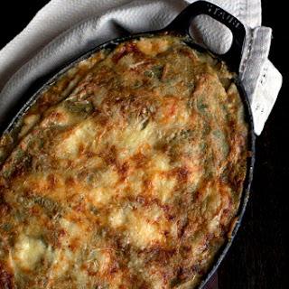 Swiss Chard Lasagna with Celeriac Bechamel