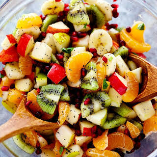 The Best Winter Fruit Salad.