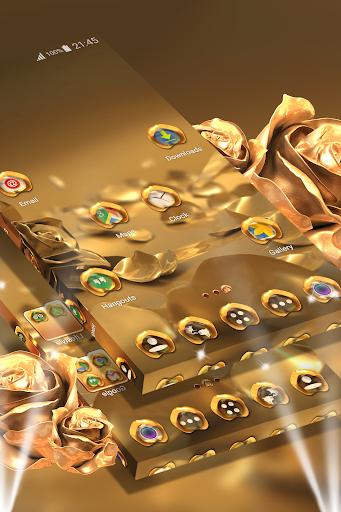 Rose Gold Launcher Theme  screenshots 2