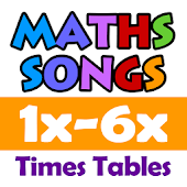 Maths Songs Times Tables 1-6x