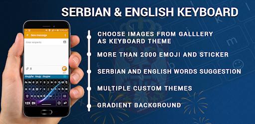 Serbian Keyboard, Custom Keypad, Emoji & Themes 1 0 5 (Android