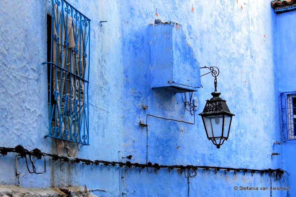Blauwe straten van Chefchaouen