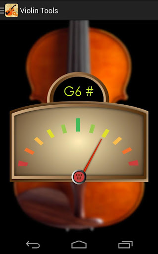 Violin Tuner Tools 2.42 screenshots 2