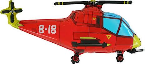 Folieballong Helikopter