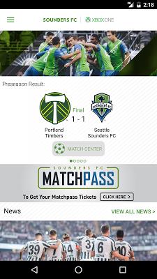 Seattle Sounders FC - screenshot