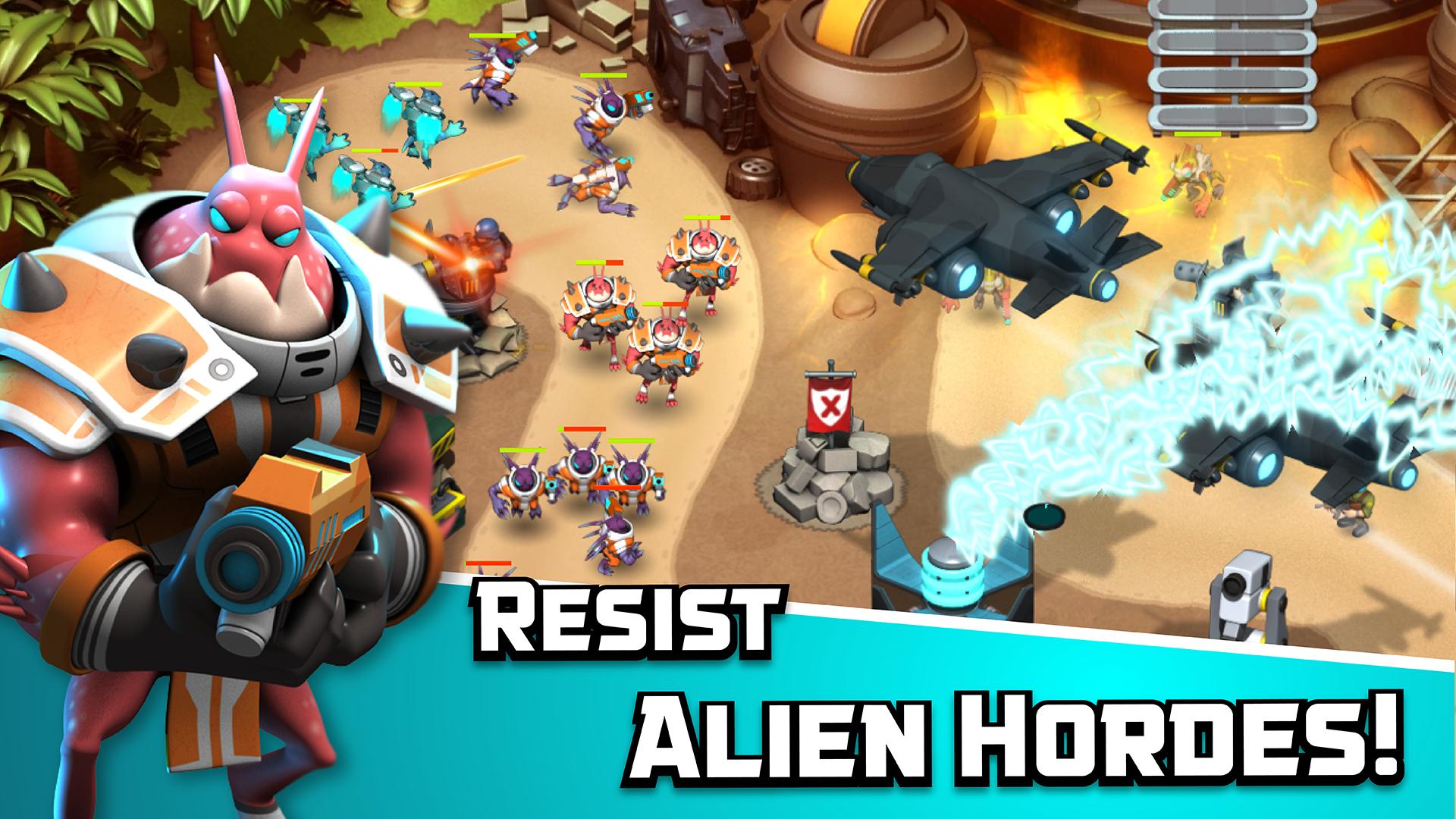 Alien Creeps TD screenshot #4