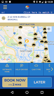 Gold Coast Cabs- screenshot thumbnail