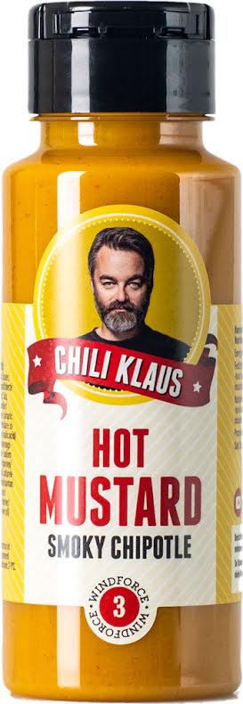 Het senap - rökig Chipotle med vindstyrka 3 – Chili Klaus