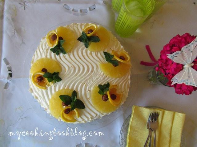 Сиропиран морковен кейк