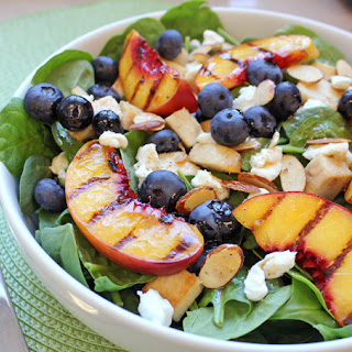 Grilled Peach Salad.