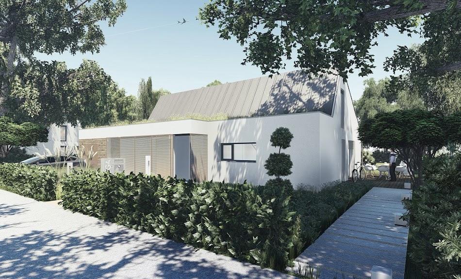 Wizualizacja projektu tygodnia - Das Haus I (TAK-119)