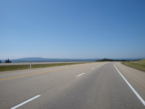 Photo: a wide, vast sweeping road