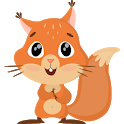 Cute Squirrel Stickers - WAStickerApps icon