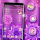 Download Pink Purple Flower Launcher Theme For PC Windows and Mac
