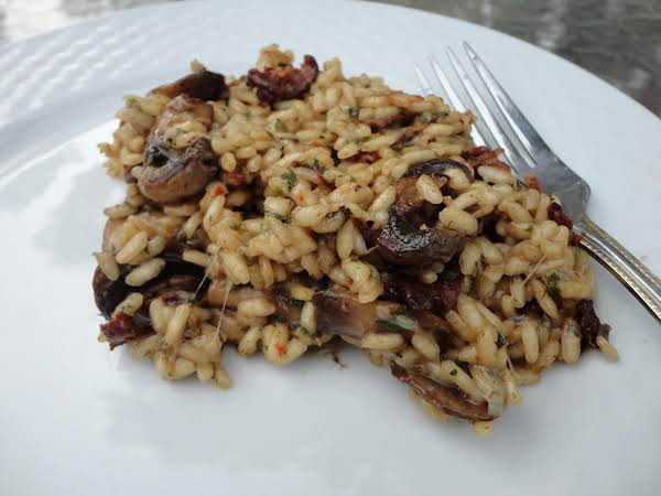 Easy Sundried Tomato And Bacon Risotto Recipe