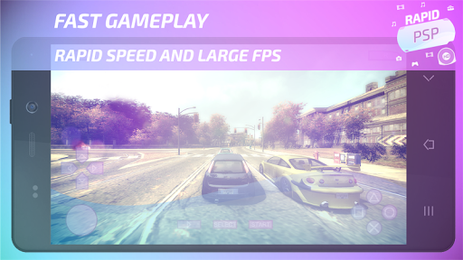 Rapid PSP Emulator for PSP Games 4.0 screenshots 1