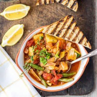 Super Healthy Cabbage Soup (ZERO Weight Watchers Points!).