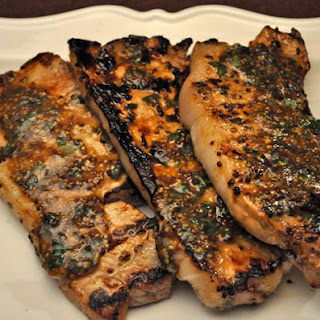 Grilled Deviled Pork Chops.