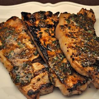 Grilled Deviled Pork Chops.