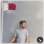 Qatar Flag In Your picture : Photo Editor APK