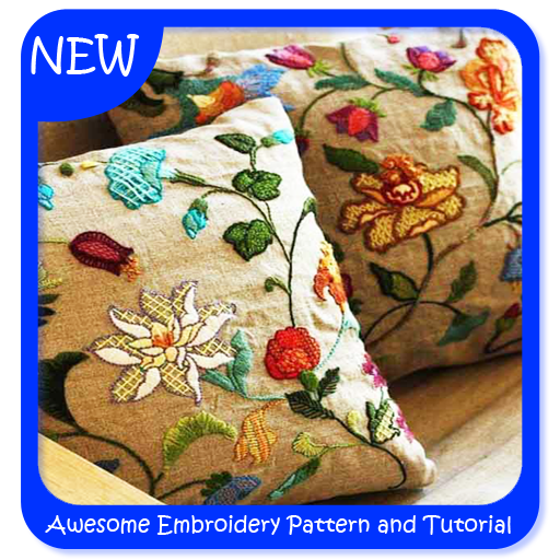 Awesome Embroidery Pattern and Tutorial