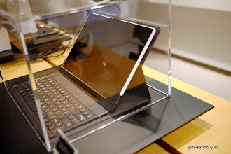 Photo: Xperia Z / Xperia Tablet Z Event: This keyboard case for the Xperia Tablet Z looked pretty nice and premium