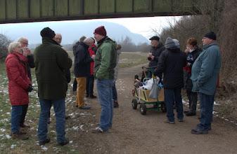 Photo: Erste Brückenpause