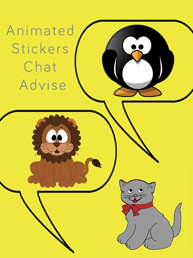 animated stickers chat advise android apps on google play. Black Bedroom Furniture Sets. Home Design Ideas