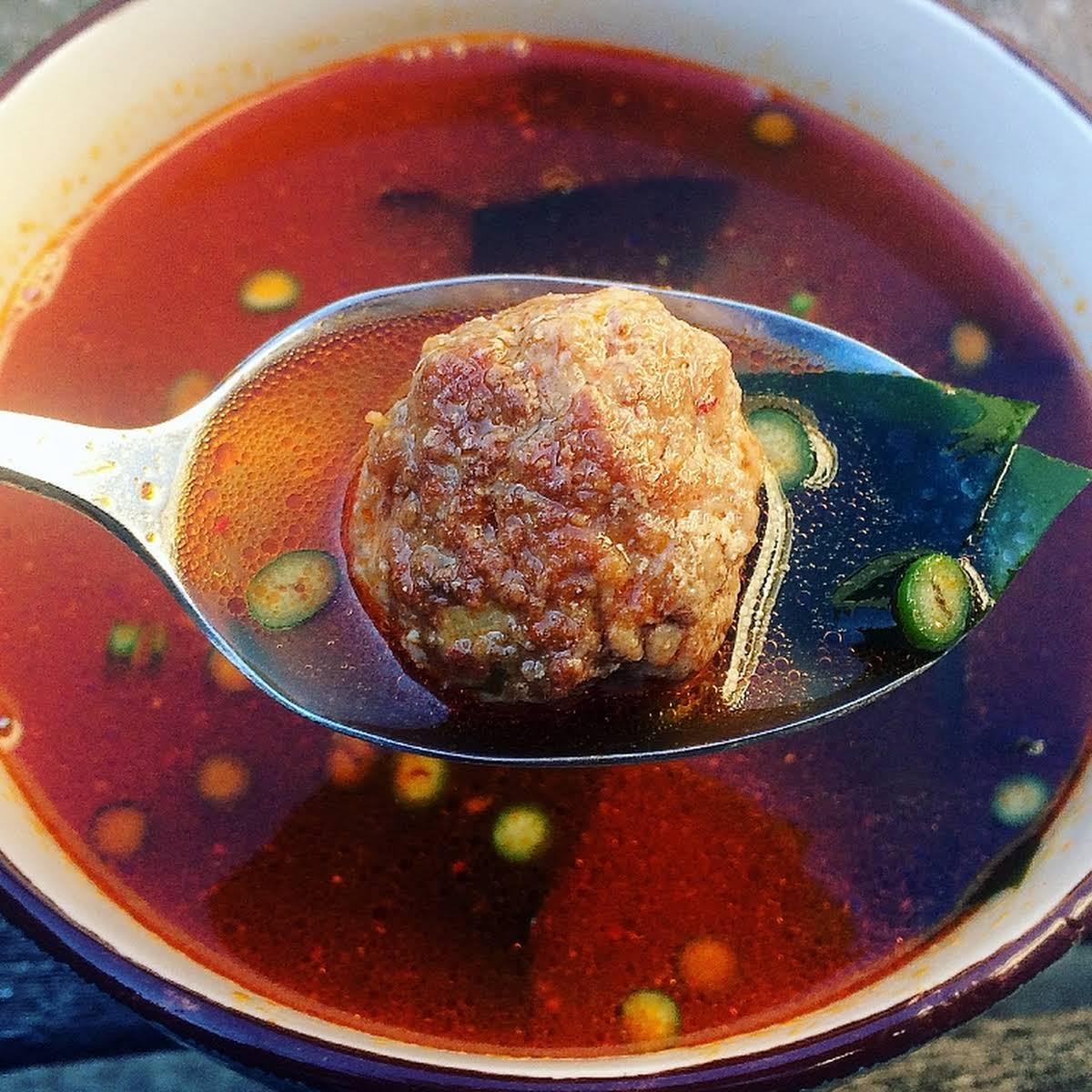 """Korean """"Wedding"""" Soup"""