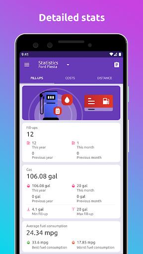 Fuelio: gas log, costs, car management, GPS routes screenshot 5