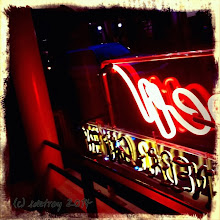 Photo: I like neon, the feeling in the cafe with the neon light, gives me a cozy sense in my world.