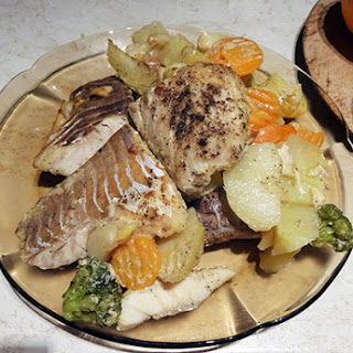 Fish Fillet Vegetables Recipes.