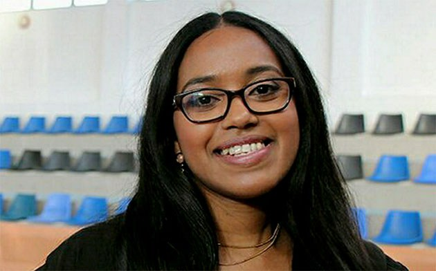 Nitiksha Wesley did not let anything stop her from pursuing her dream.  Image: Stellenbosch University